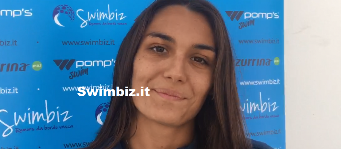 Rita Maria Pignatiello a Swimbiz
