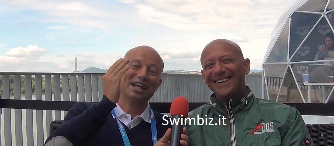 Luca Sacchi al Salotto Acquatico di Swimbiz.it