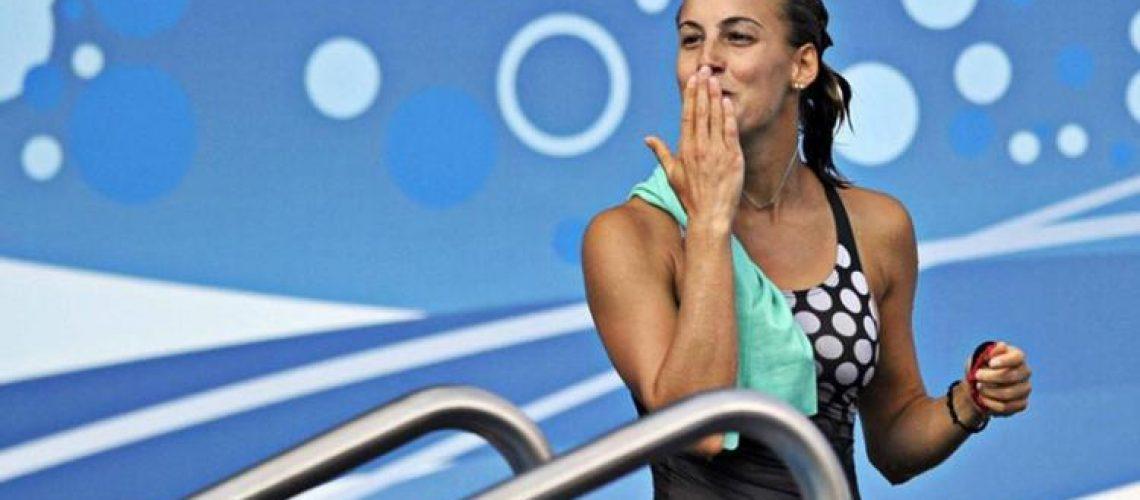 Tania Cagnotto, campionessa mondiale ed europea, bi medagliata olimpica
