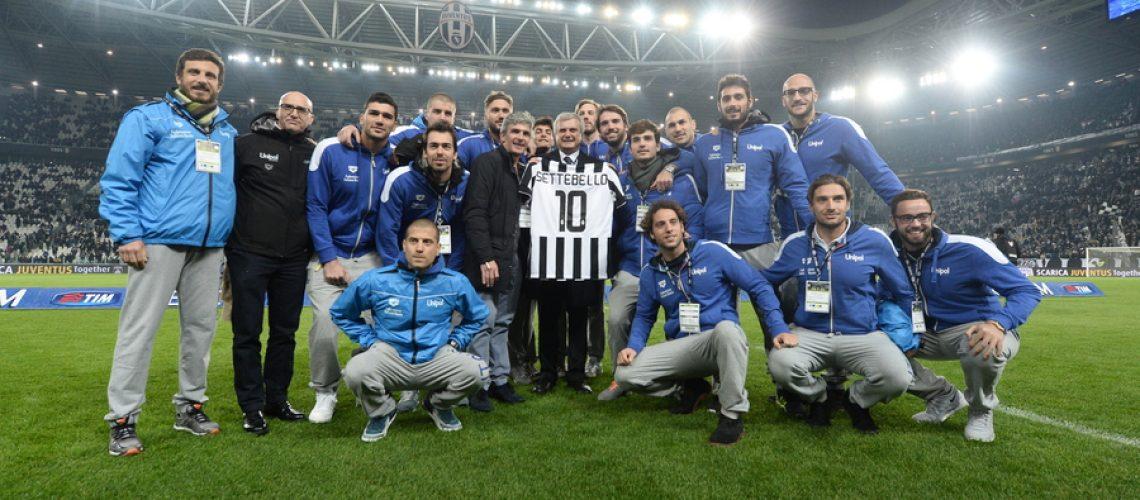 Sandro Campagna e il Settebello allo Juventus e Stadium