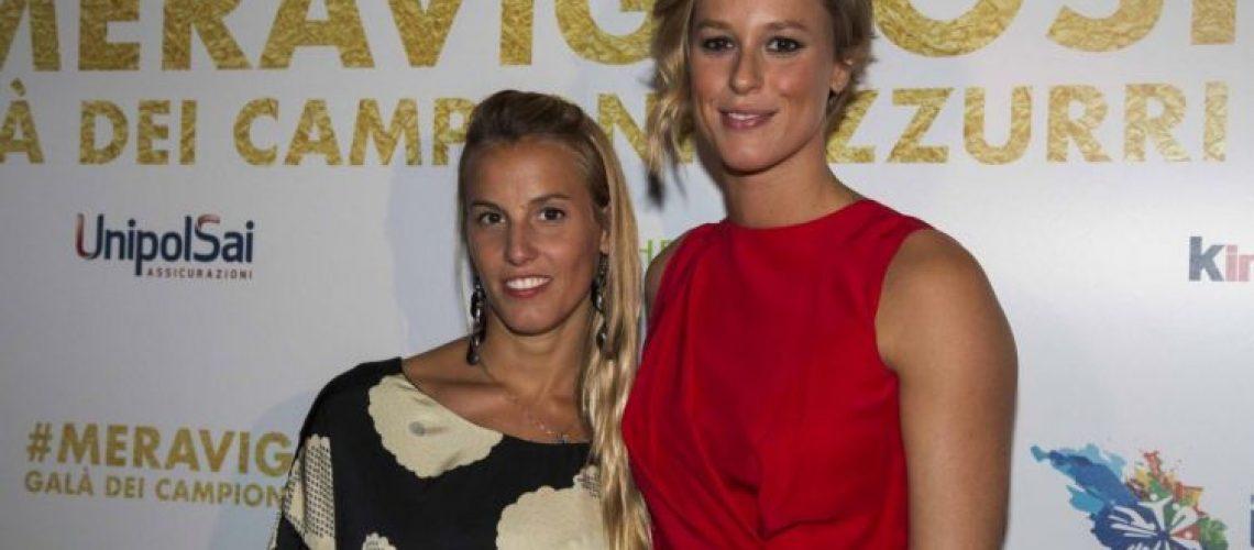 Tania Cagnotto e Federica Pellegrini