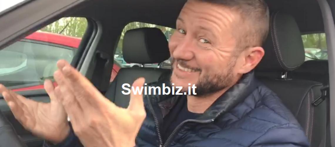 Tommaso Mecarozzi al Flash Acquatico di Swimbiz