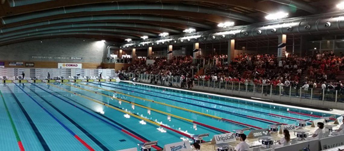 Lo Stadio del nuoto di Riccione
