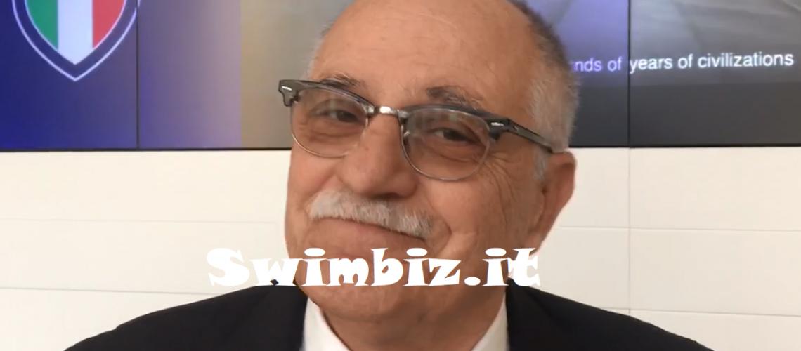 Ugo Claudio Matteoli, Presidente Fipsas, a Swimbiz