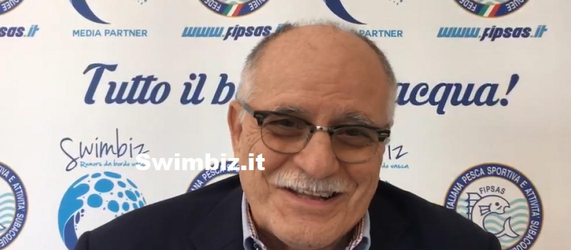 Ugo Claudio Matteoli a Swimbiz