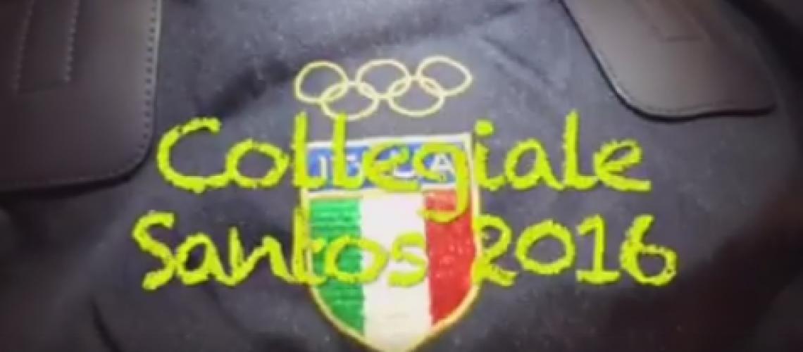 Il video del collegiale di Santos