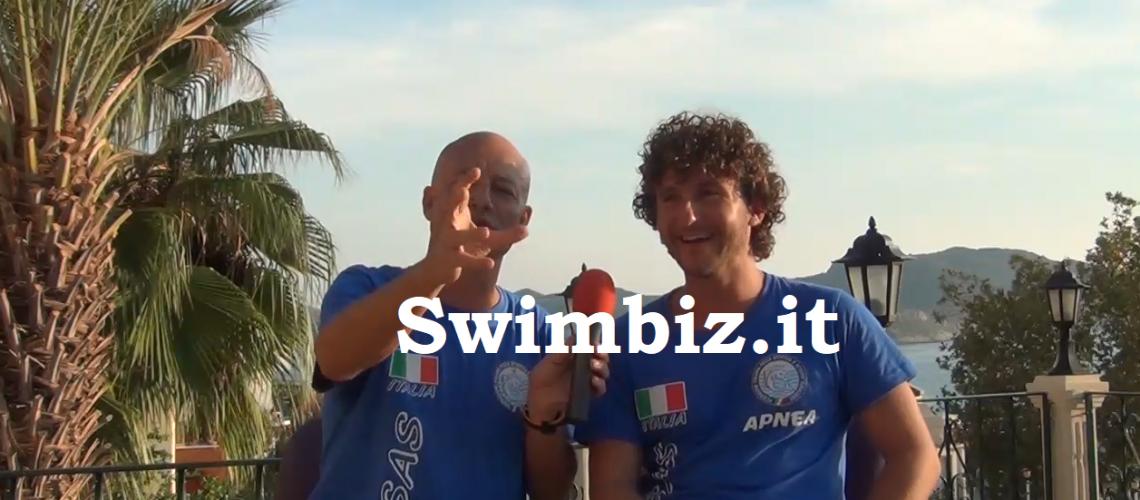 Vincenzo Ferri al Salotto Acquatico di swimbiz