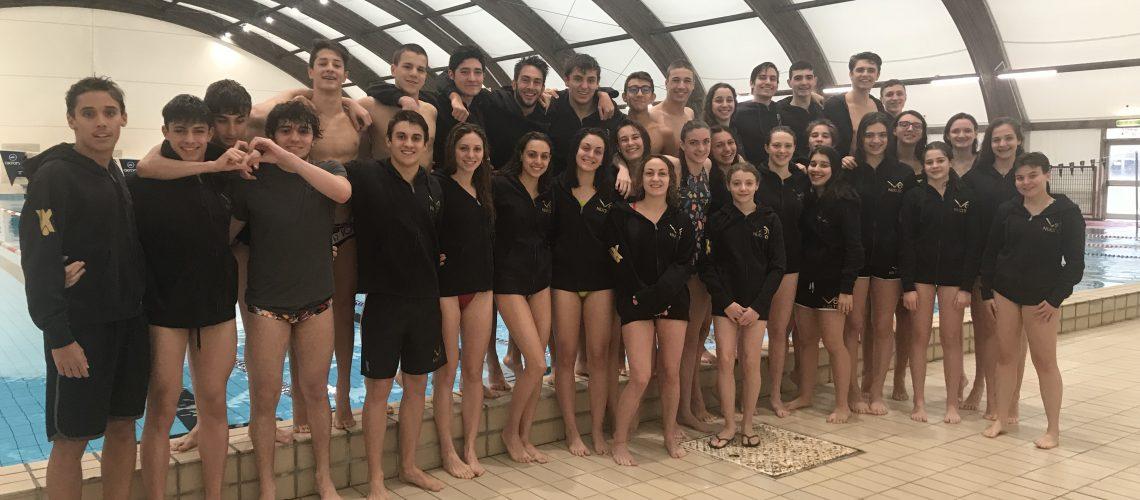 La squadra VO2 NuoTo