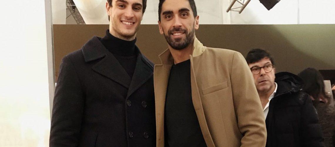 Lorenzo Zazzeri e Filippo Magnini