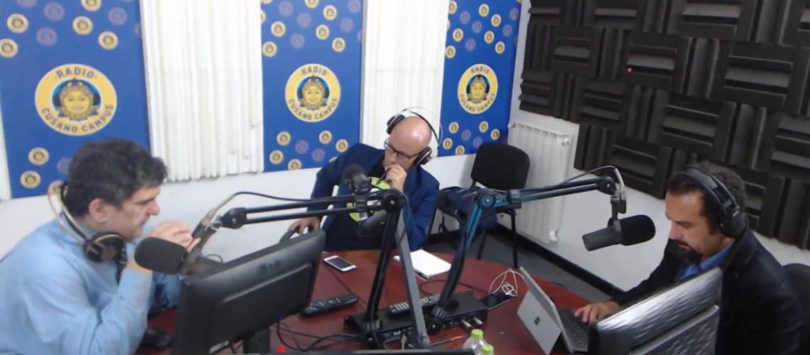 Christian Zicche a Sport Academy, Radio Cusano Campius
